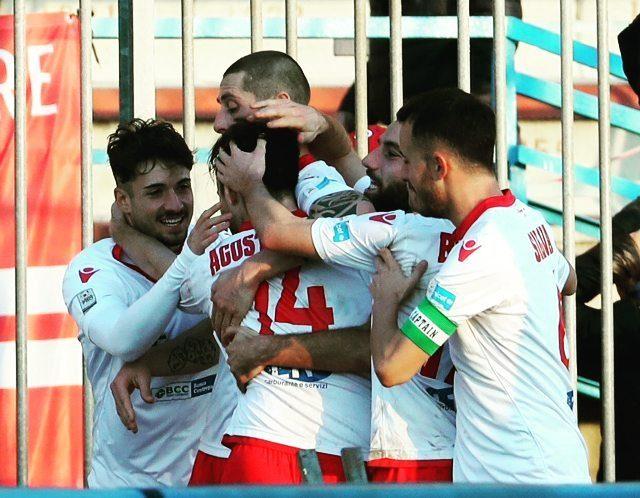 PiacenzaCalcio celebrating goal instapic picoftheday we love football biancorossi CPiacehellip