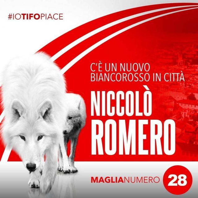 Romero  biancorosso! Benvenuto allattaccante proveniente dalla FeralpiSal
