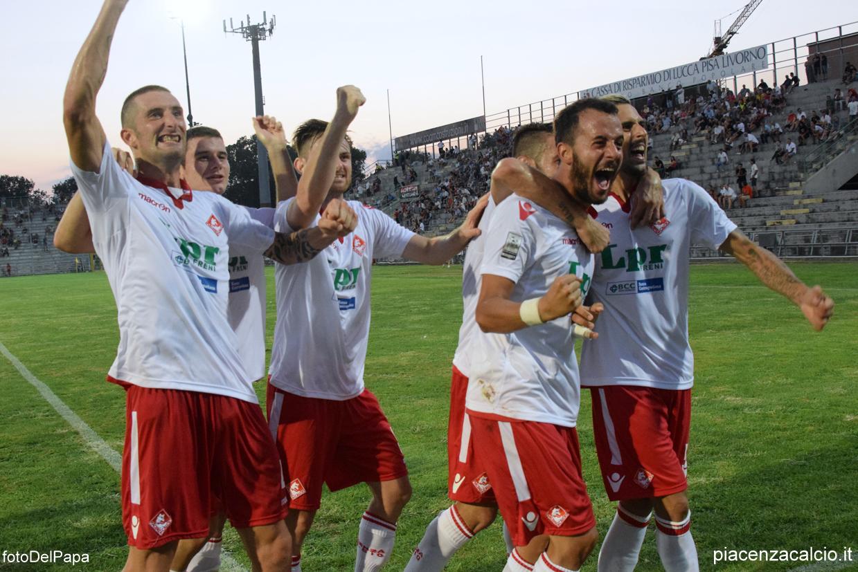 Piacenza Calcio Lucchese ( Foto DEL PAPA )