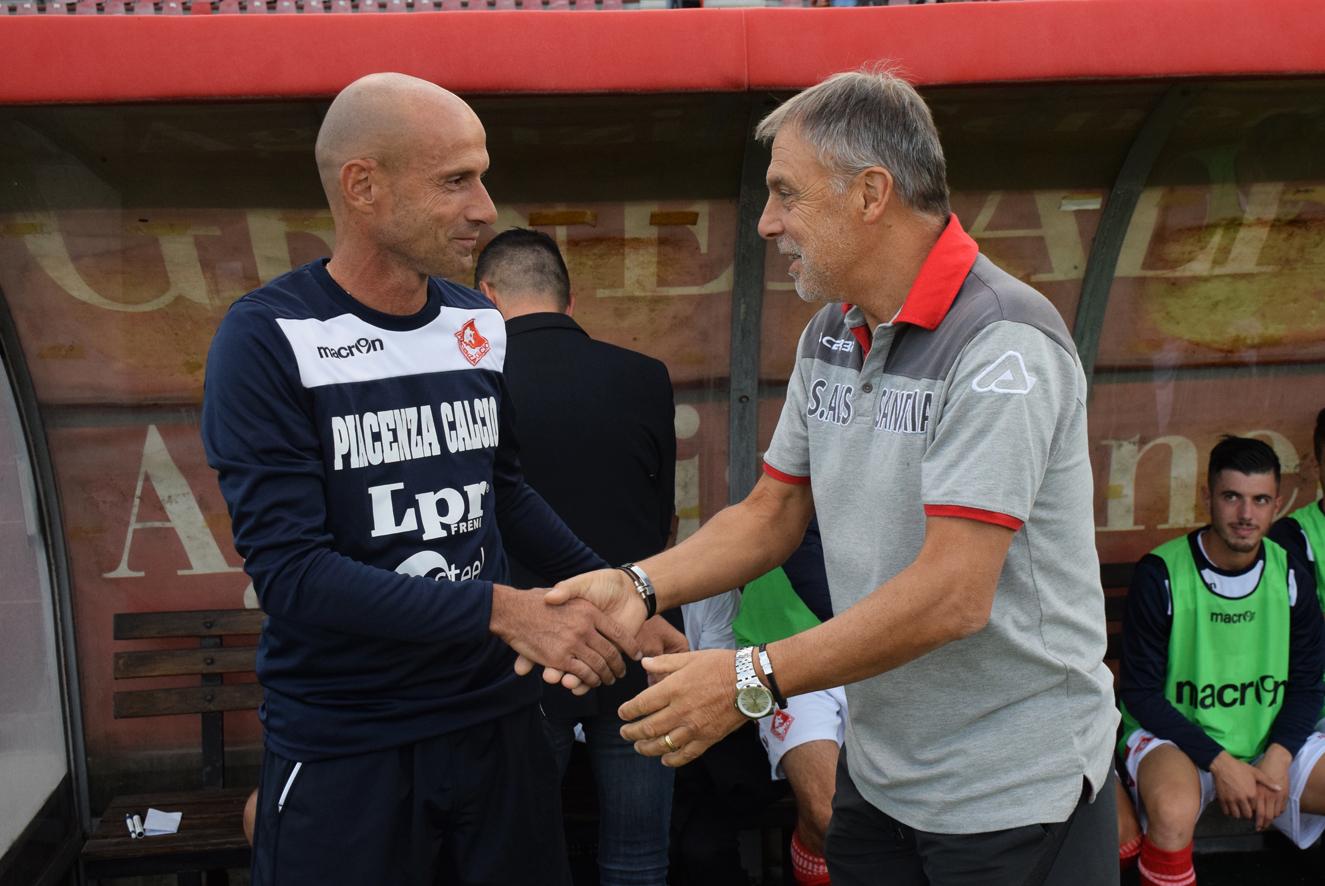 Piacenza Calcio Alessandria, Franzini e Bragllia