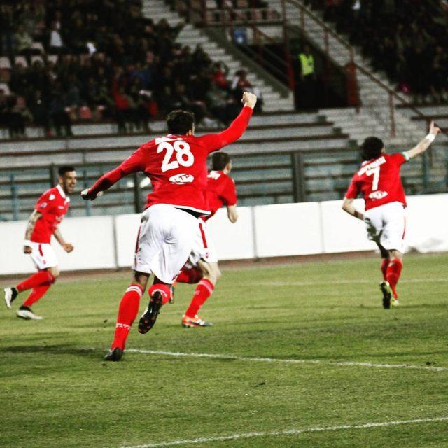 Piacenza celebrating goal picoftheday instapic football biancorossi CPiace iotifoPiace