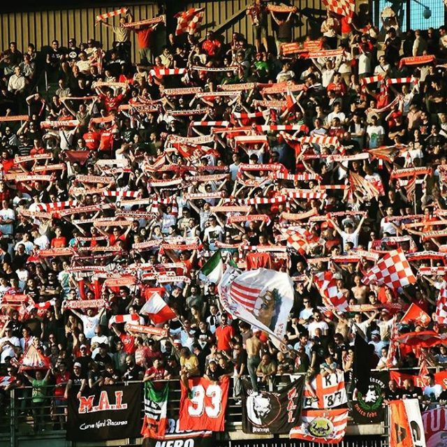 Biancorossi siamo noi! supporters Piacenza instapic picoftheday CPiace iotifoPiace