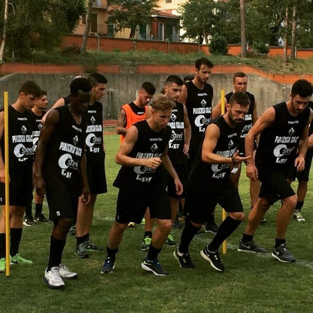 I biancorossi si allenano a SalsomaggioreTerme oggi doppia seduta! iotifoPiace