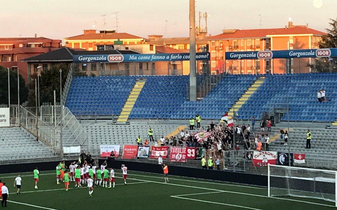 Il Piacenza espugna Novara e passa al terzo turno di Tim Cup