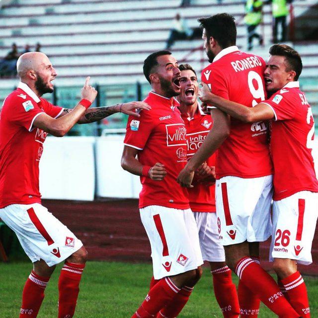 Piacenza esultanza per il goal della vittoria! chegruppo chesquadra biancorossihellip
