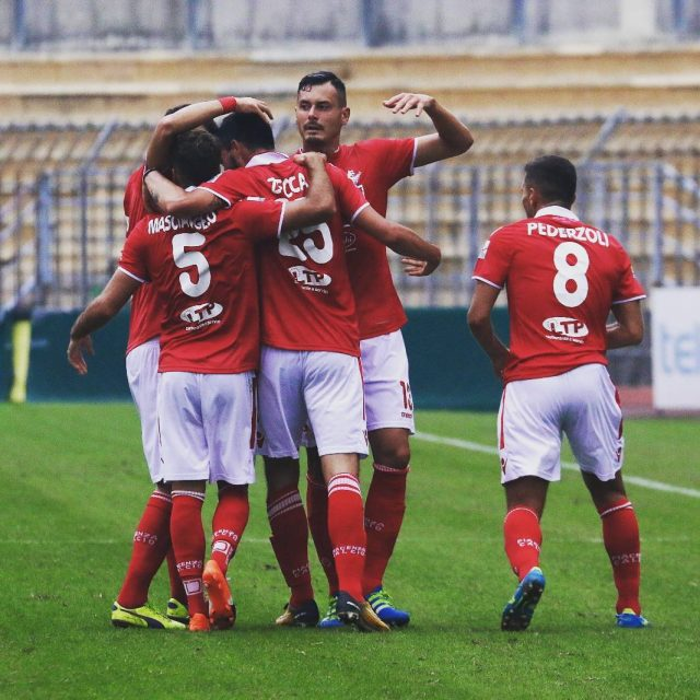 Piacenza celebrating goal instapic picoftheday football biancorossi iotifoPiace