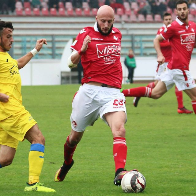 Morosini recupera palla e punta larea! Piacenza biancorossi iotifoPiace