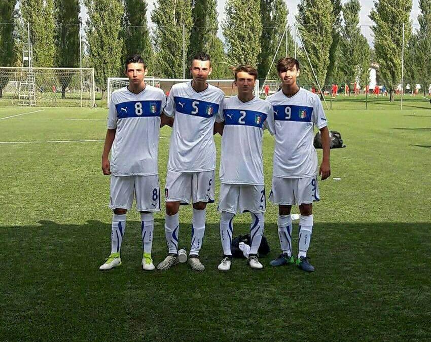 Carrese e Confalonieri convocati in Nazionale Serie C Under 17
