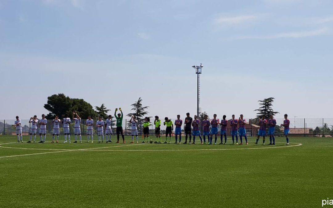L'Under 17 pareggia a Catania e passa ai Quarti di Finale