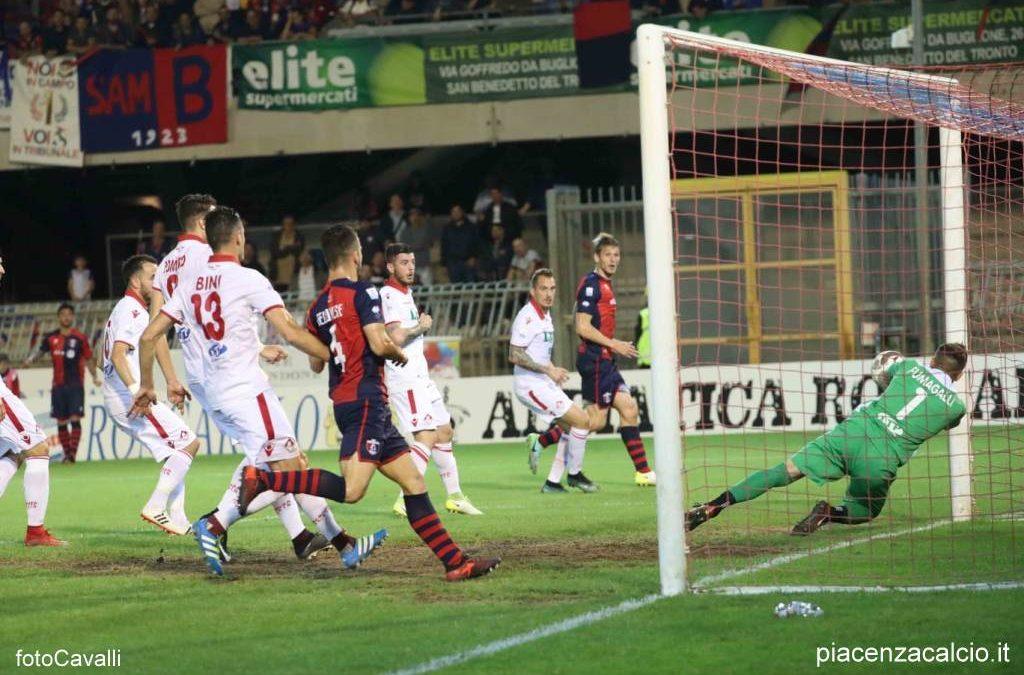 Piacenza superato in trasferta, finisce la corsa nei Playoff