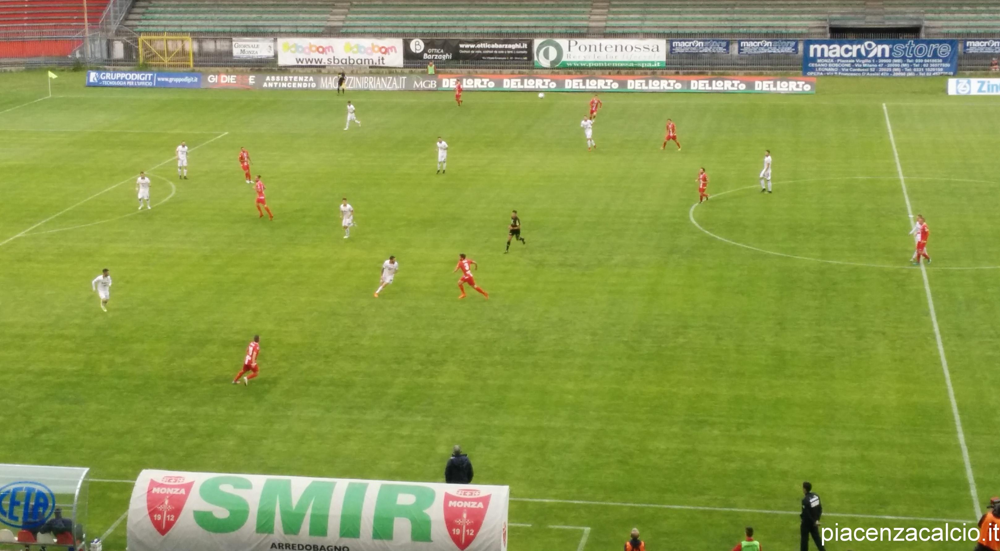 Monza - Piacenza, Playoff