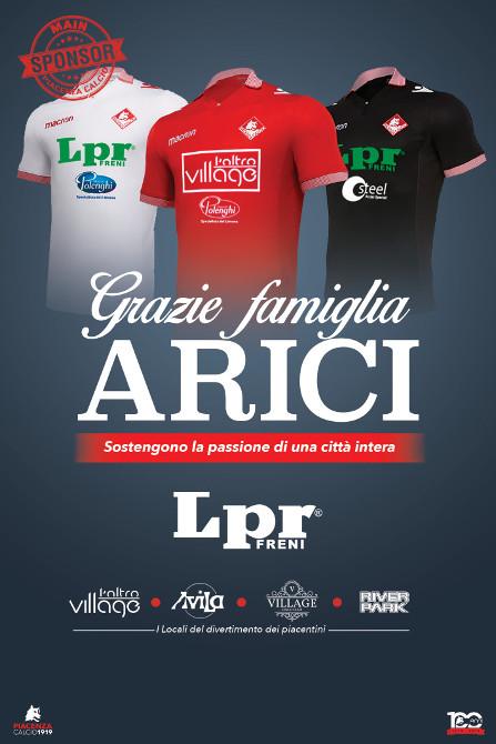 LPR e Piacenza Calcio ancora insieme