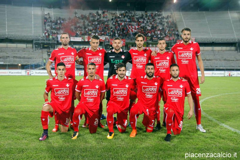 Esordio vincente del Piacenza in campionato