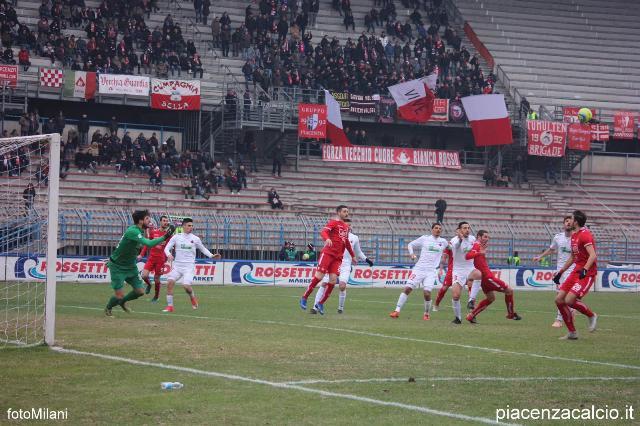 Il Piacenza si impone al Garilli e supera la Lucchese
