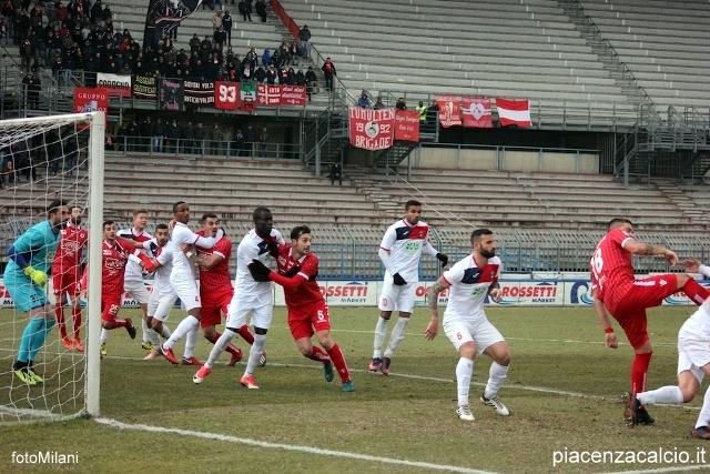 Il Piacenza vince al Garilli con il Gozzano