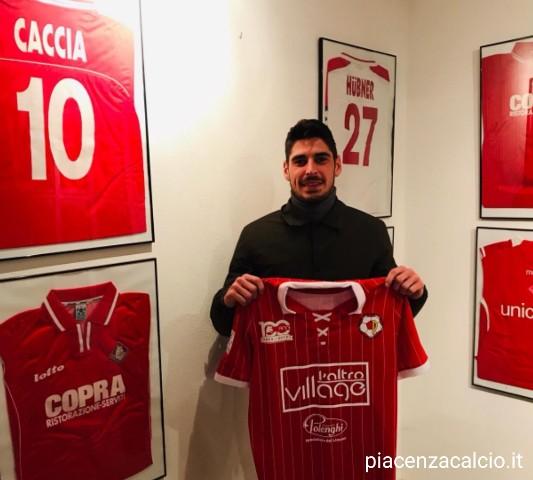Francesco Corsinelli è un giocatore del Piacenza Calcio