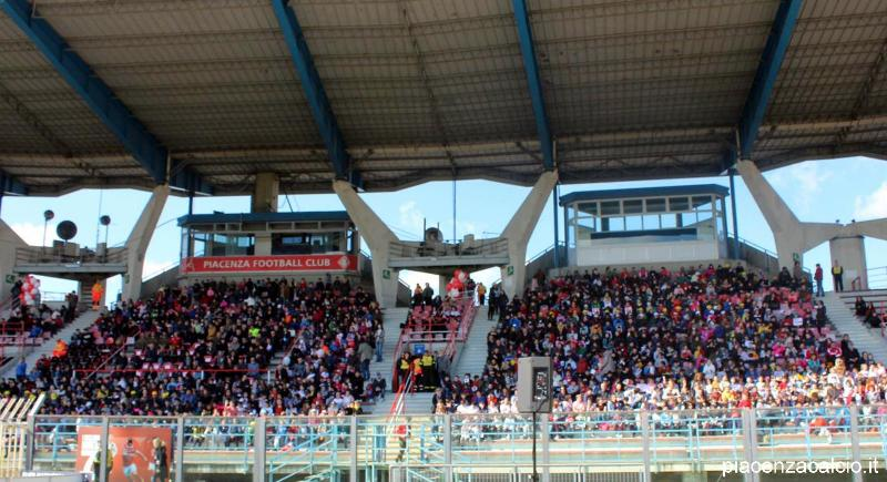 Piacenza – Entella, Stadio Garilli sold out