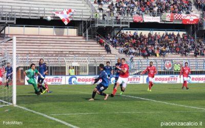 Il Piacenza ribalta la partita e si impone sul Cuneo