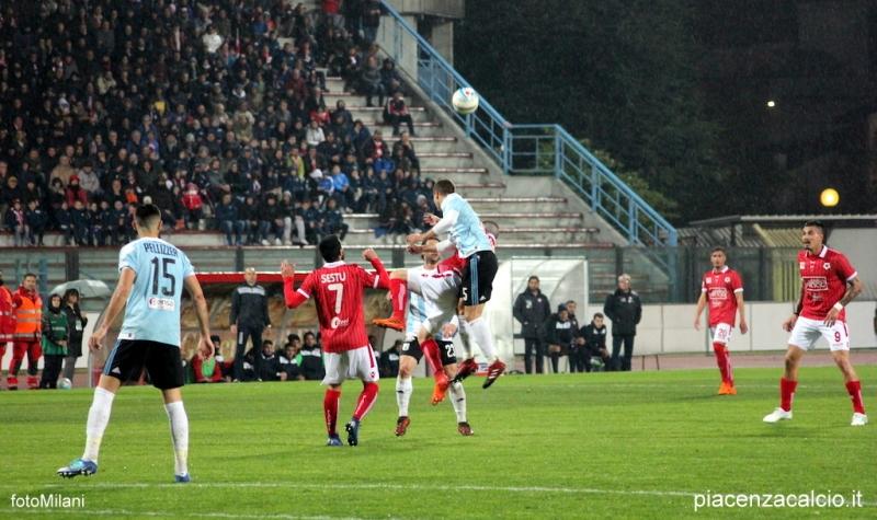 Un grande Piacenza fa suo il big match con l'Entella