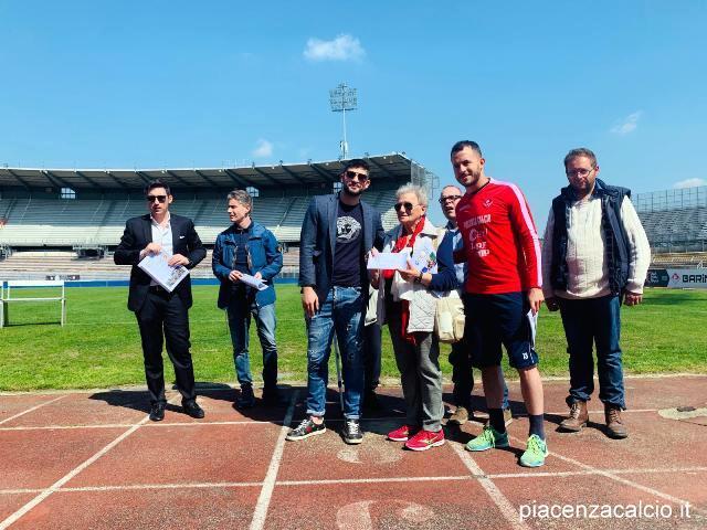 Il Piacenza Calcio al fianco di As.so.fa.