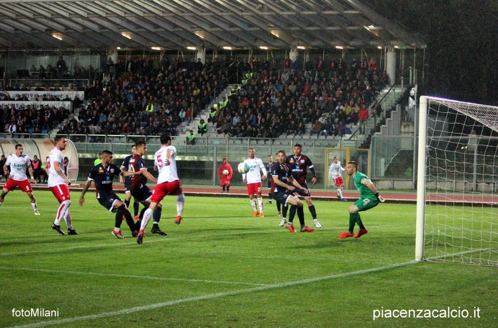 Il Piacenza vince a Imola nell'andata dei quarti di finale Playoff