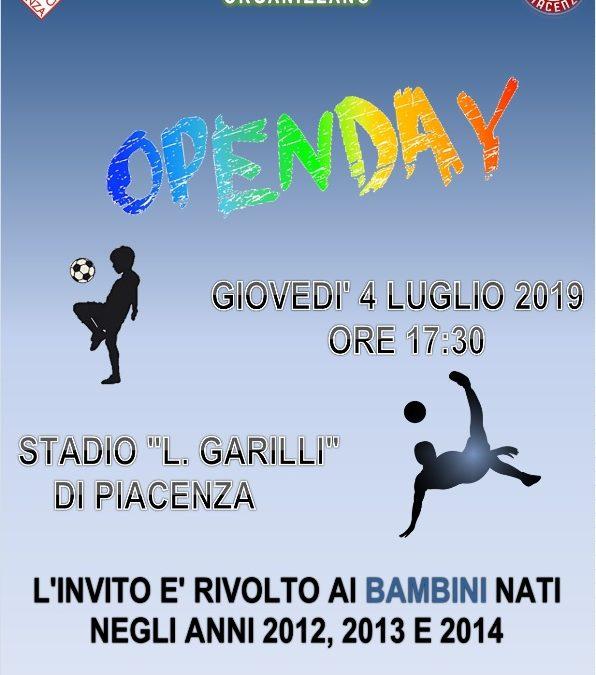 Open Day allo Stadio Garilli
