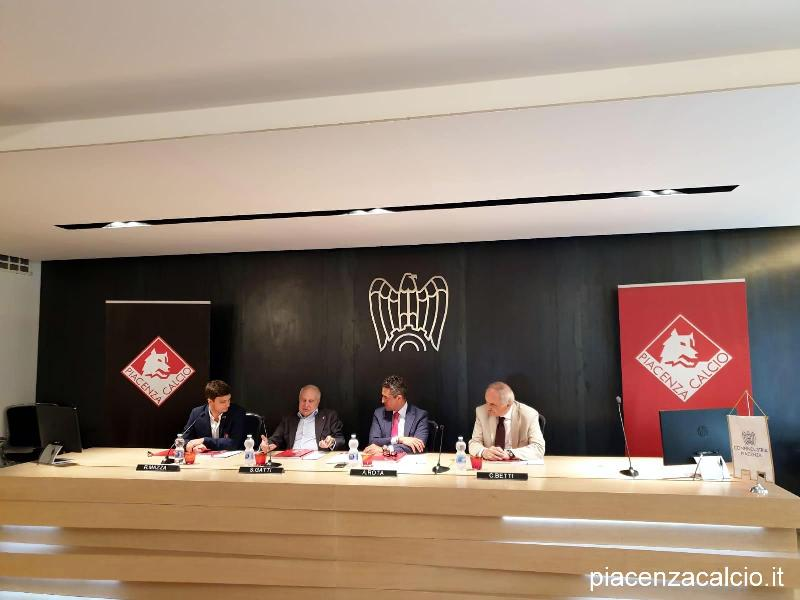 Siglata partnership tra Piacenza Calcio e Confindustria