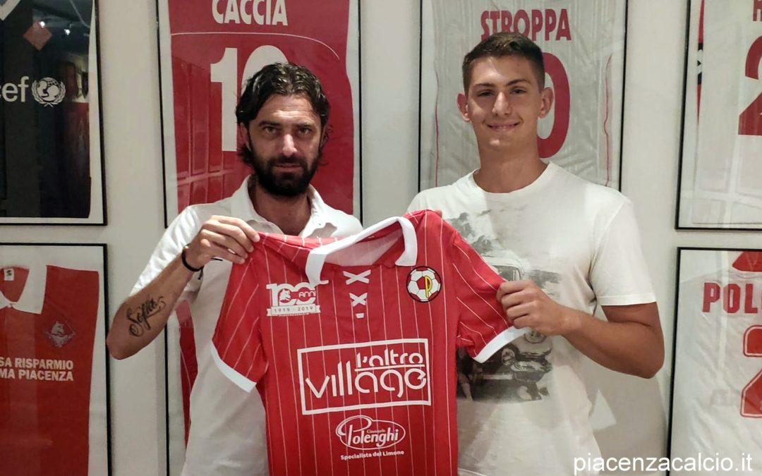 Riccardo Bertozzi firma con il Piacenza Calcio