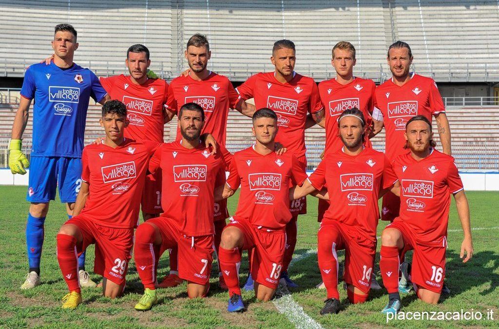 Il Piacenza supera la Viterbese nel primo turno di Coppa Italia TIMCup