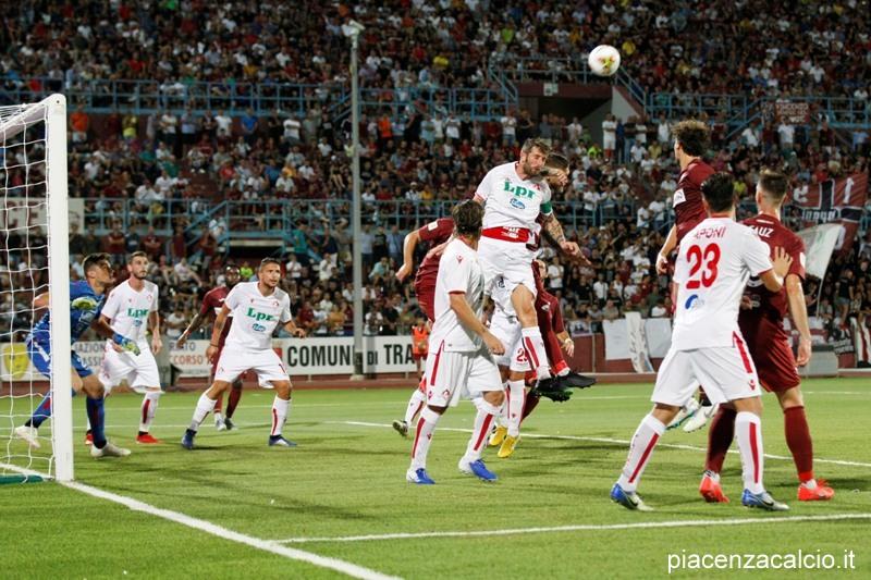Piacenza superato dal Trapani in Coppa Italia
