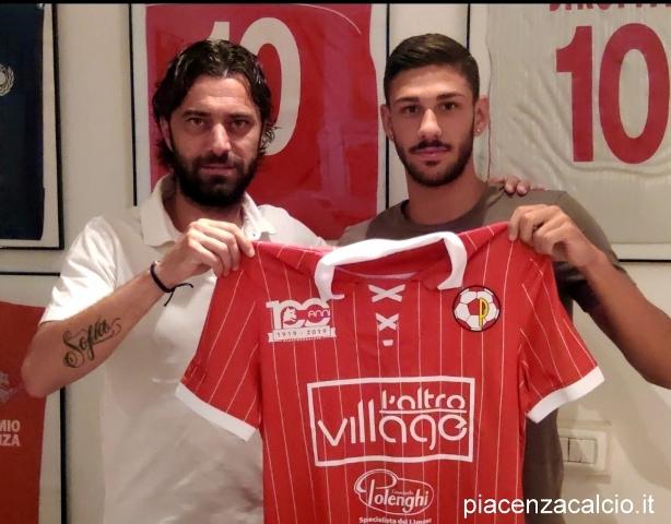Marco Imperiale è un giocatore del Piacenza