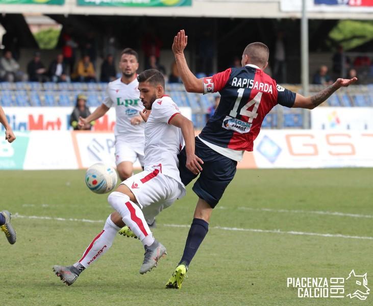 Piacenza superato in trasferta dalla Sambenedettese