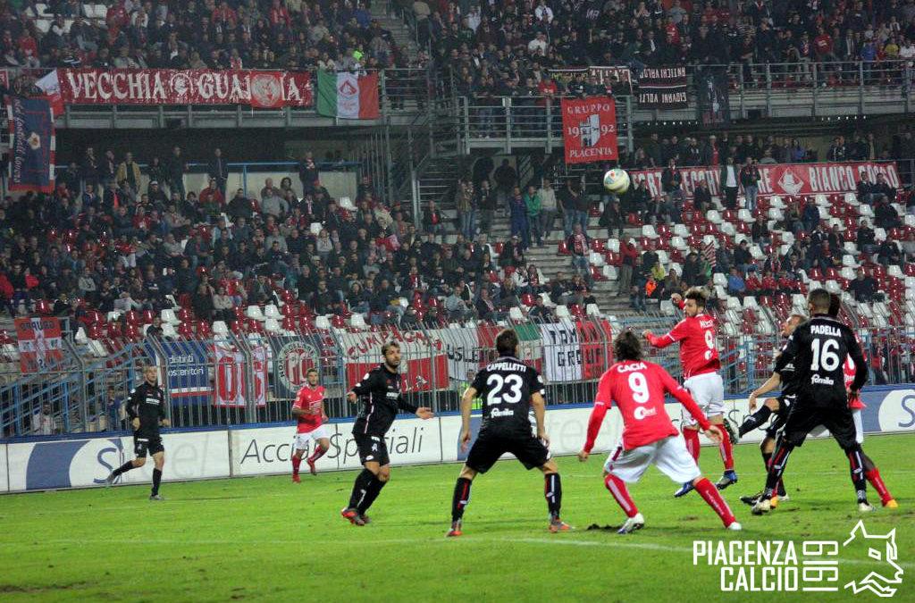 Grande rimonta e il Piacenza supera il Vicenza