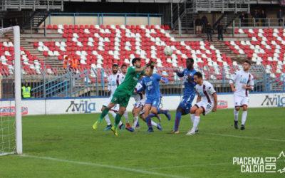 Il Piacenza supera l'Imolese in Coppa Italia Serie C