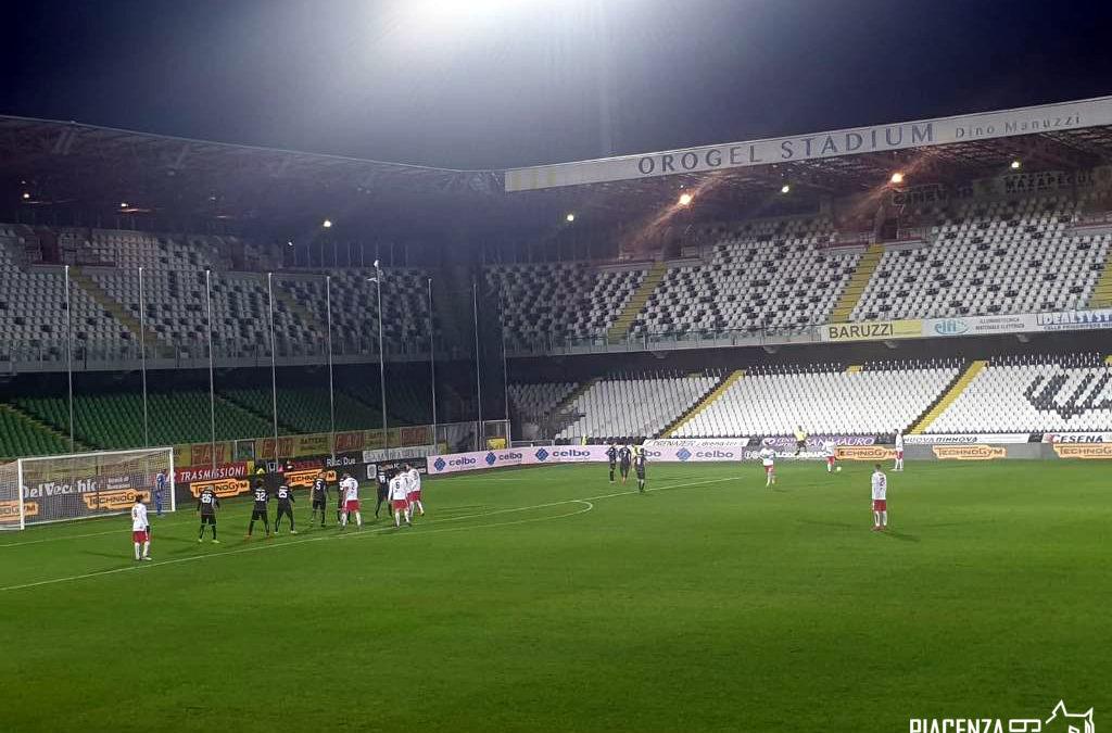 Il Piacenza supera il turno ai rigori col Cesena