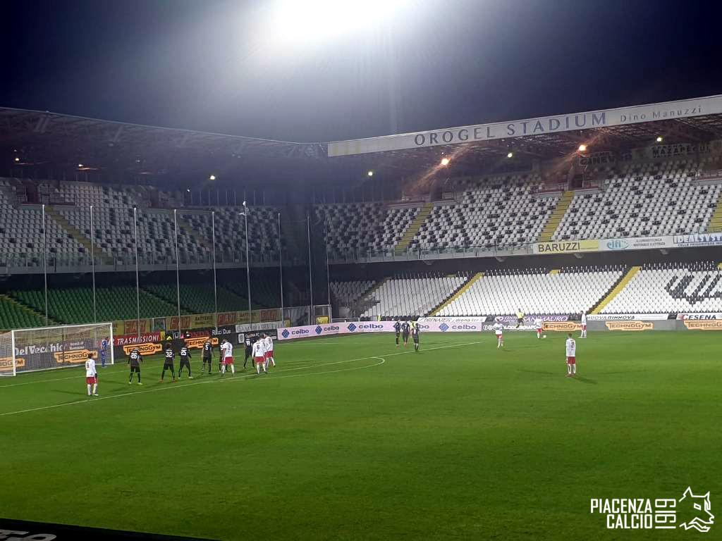 Cesena - Piacenza, Coppa Italia Serie C