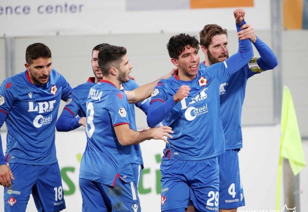 Il Piacenza passa a Bolzano, col Südtirol finisce 0-2