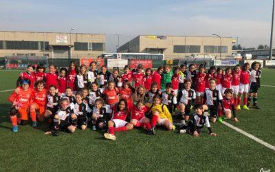Under 10 femminile ospite della Juventus a Vinovo