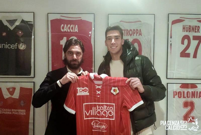 Stefano Mazzini è un giocatore del Piacenza