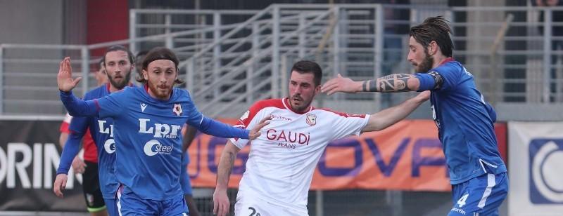 Piacenza superato in trasferta a Carpi
