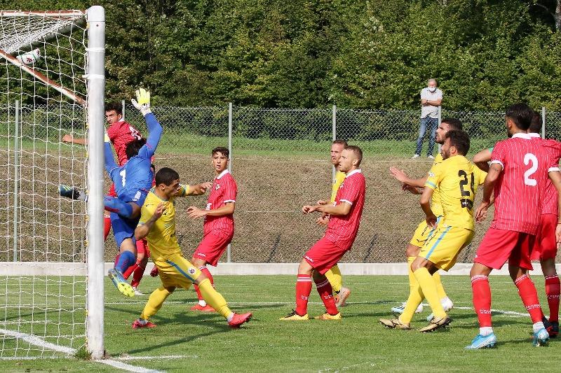 Test match del Piacenza con il Cittadella