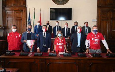 Il Piacenza Calcio ricevuto in Municipio