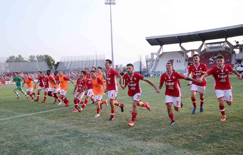 Il Piacenza supera al Garilli la Reggiana in Coppa Italia