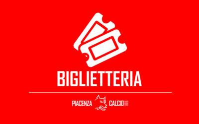 Informazioni biglietti per Piacenza – Pro Patria
